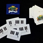 Piano Key Flash Cards
